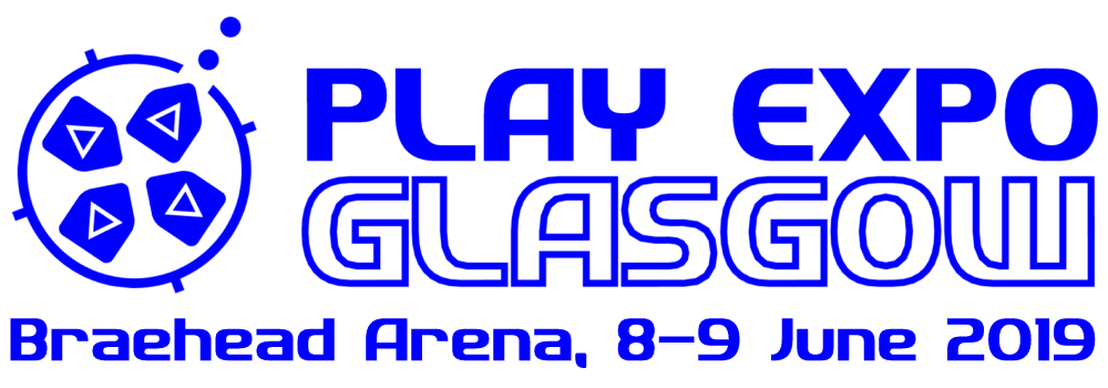 play expo glasgow 2019 logo